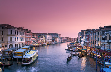 Wall Mural - Grand Canal Venice Italy