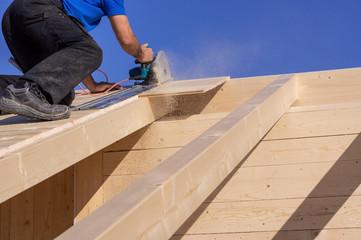 Wo Holz geschnitten wird fallen Späne