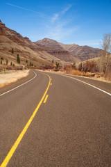 Back Road Through Wallowa Mountains Oregon United States