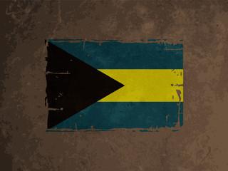 beautiful flag design of the Bahamas