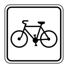 Logo vélo, bicyclette.