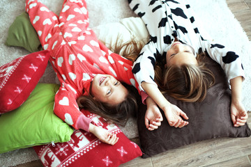 Pajamas party
