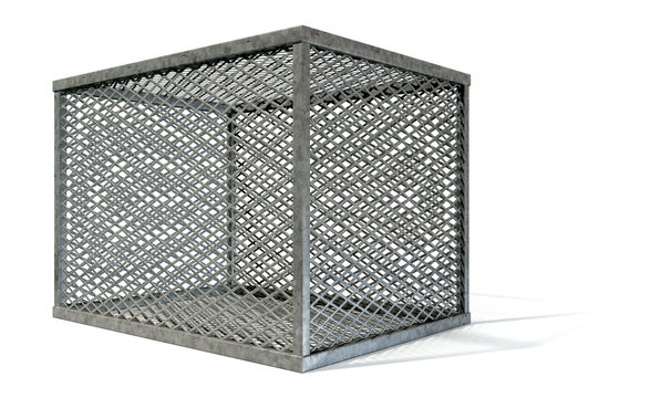 Empty Steel Cage