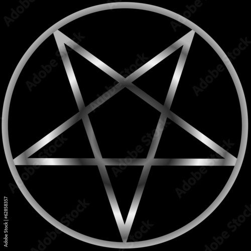 Pentacle Religious Symbol Satanism Stock Image And Royalty Free