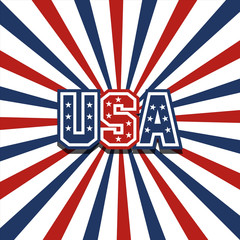 USA vector stardust patriotic background