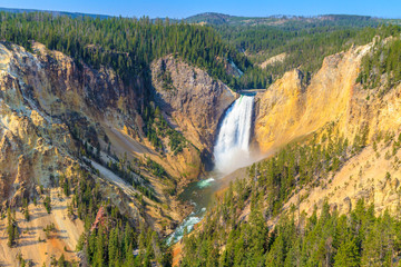 Lower Falls of the Grand Canyon of the Yellowstone National Park