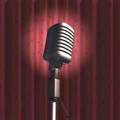 Sahne ve Mikrofon...