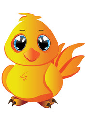 Cartoon Yellow Chicken
