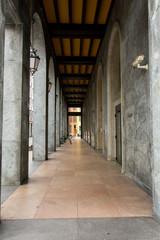 Portico in Varese city
