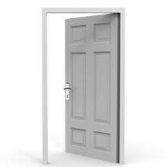 Open door. Oppotunity.