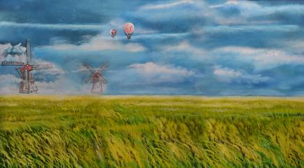 Gemälde Himmel