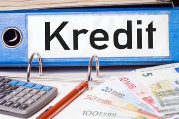 Aktenordner - Kredit