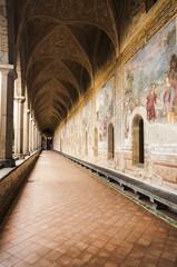 St Chiara Cloister