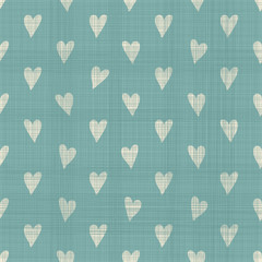 cute geometric seamless pattern with fabric texture effect