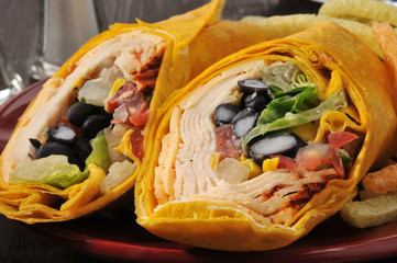 Southwest Chipotle Chicken Wrap