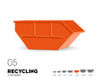Recycling - Container offen 7 cbm