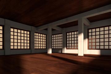 Japanese stylized room