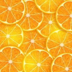background consisting of orange slices