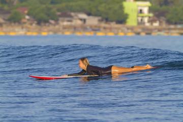 surfer girl.