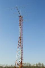 Amateur Yagi radio antenna