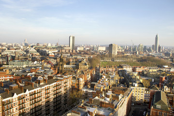 Photo sur Plexiglas Londres View from Westminster Cathedral.