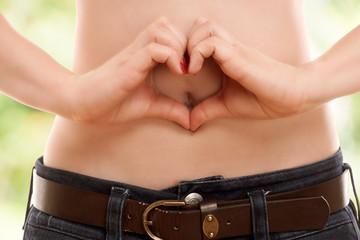 Herz Bauch