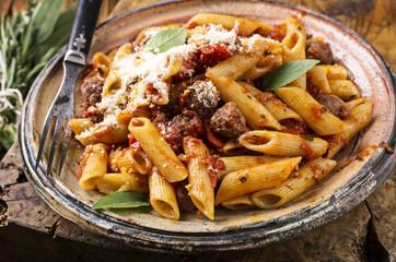 Pasta with Salsiccia