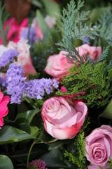 Blumen imposant kombiniert