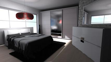 Schlafzimmer - modern