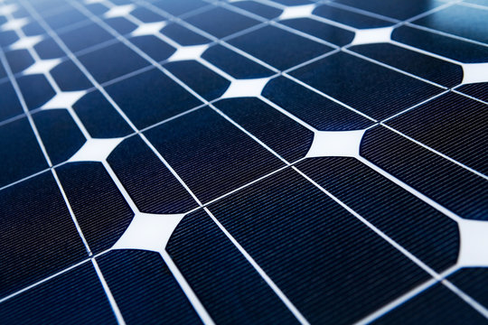 Solarpanel Close-up