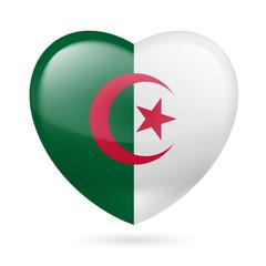 Heart icon of  Algeria