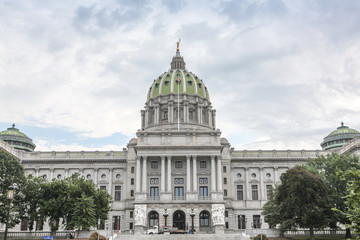 Wall Mural - Pennsylvania State House & Capitol Building, Harrisburg