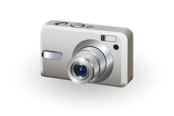 デジタルカメラのイラスト
