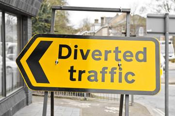Diverted traffic