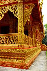 The style of Thai Lanna on Buddhist church
