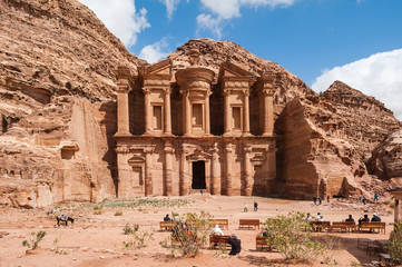 El Deir or The Monastery at Petra, Jordan