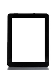 digital tablet pc isolated on white background