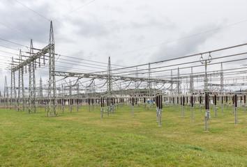 Umspannwerk vom Energieversorger