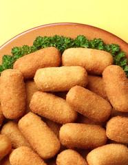 ham croquettes dish
