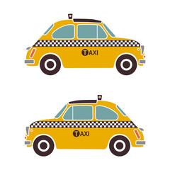 cinquecento as yellow cab