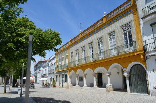 Marktplatz von Beja Alentejo Portugal