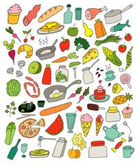 Food color set