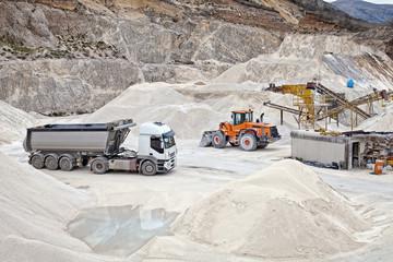 miniera in funzione