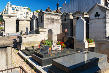 Photo sur Aluminium Cimetiere Montmartre Cemetery in Paris