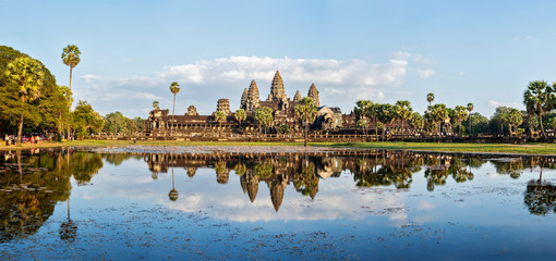 Wall Mural - Panorama of Angkor Wat