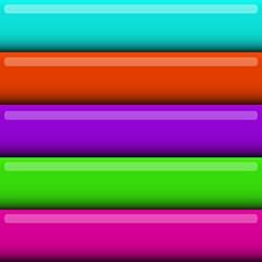 volumetric color bands