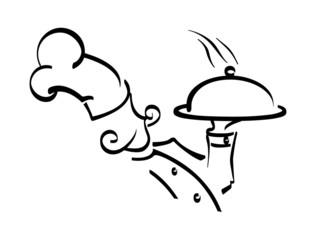 chef line icon