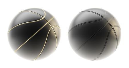 Basketball ball render isolated