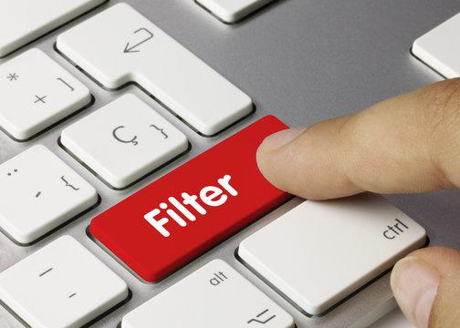 Filter. Keyboard