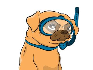 Dog Scuba